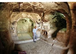 Inside view of the cave of Ashab al kahf