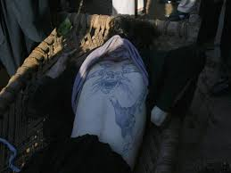 Freemasonic Symbols on the back of Taliban Commander - This is real face of TTP