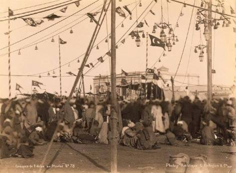 Mawlid an-Nabawi SallAllaho Alaihi wa Sallam Celebrations in Cairo in 1878