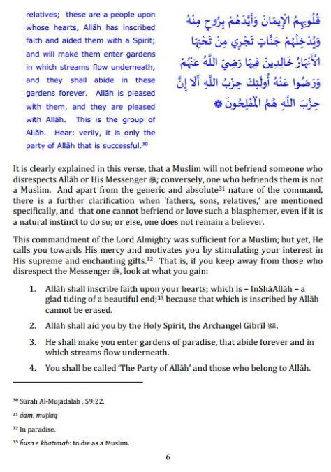 Tamheed e Iman by Sheikh Sidi Ahmed Reda Khan6
